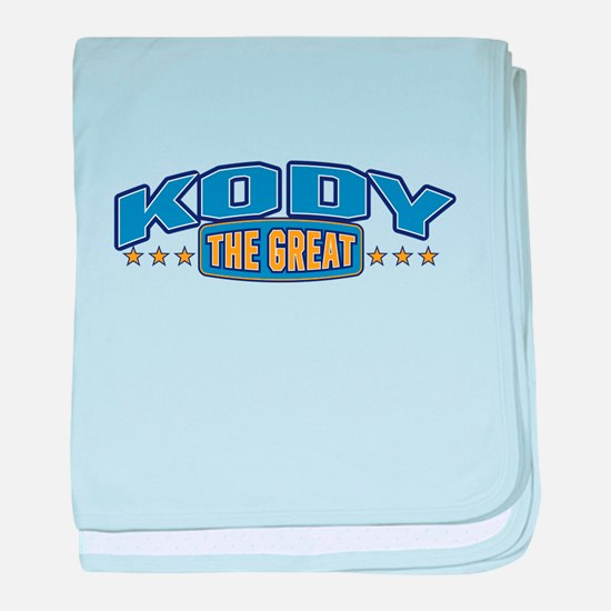 The Great Kody baby blanket
