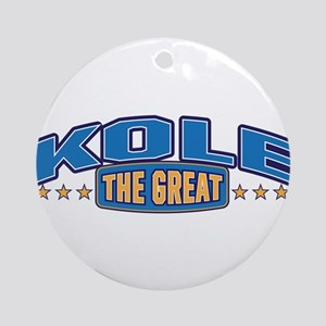 The Great Kole Ornament (Round)