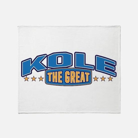 The Great Kole Throw Blanket