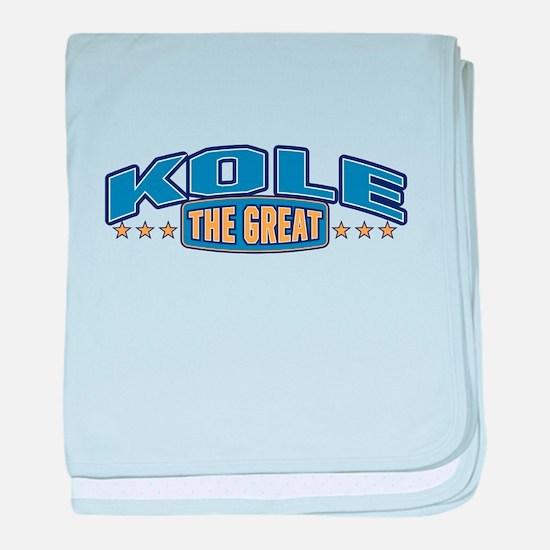 The Great Kole baby blanket