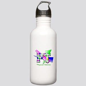 Circles and Dots Stainless Water Bottle 1.0L
