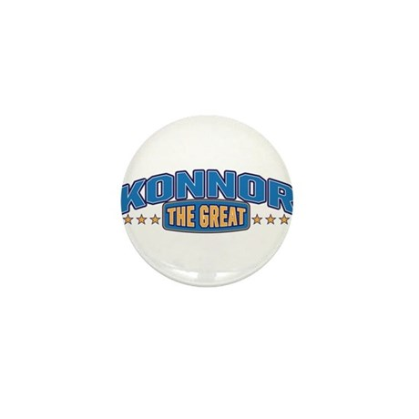 The Great Konnor Mini Button (100 pack)