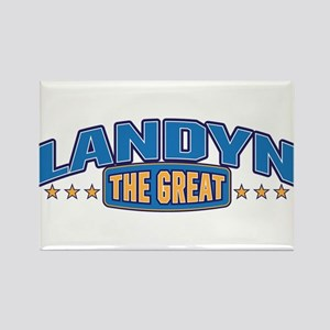The Great Landyn Rectangle Magnet