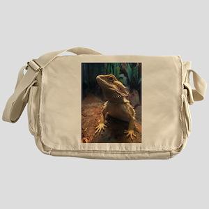 Bearded Dragon Messenger Bag