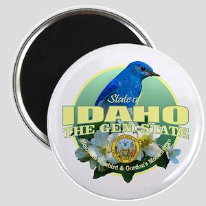 Idaho State Bird & Flower Magnets