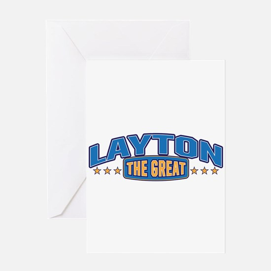 The Great Layton Greeting Card