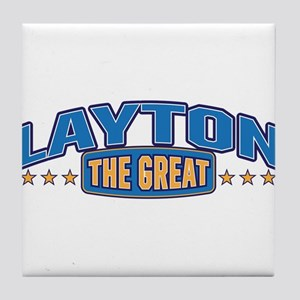 The Great Layton Tile Coaster