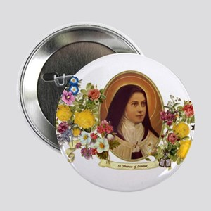 """St. Therese of Lisieux 2.25"""" Button"""