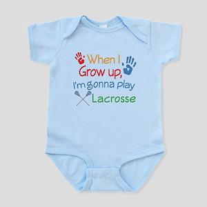 Future Lacrosse Player Infant Bodysuit