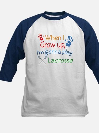 Future Lacrosse Player Kids Baseball Jersey