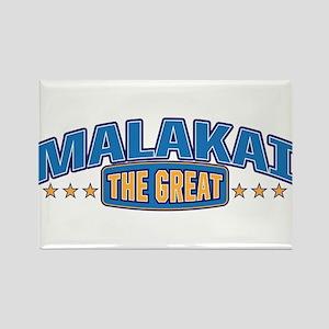 The Great Malakai Rectangle Magnet