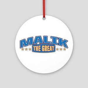 The Great Malik Ornament (Round)
