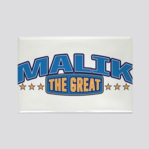 The Great Malik Rectangle Magnet