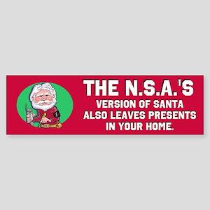 No Such Agency 2 Sticker (Bumper)