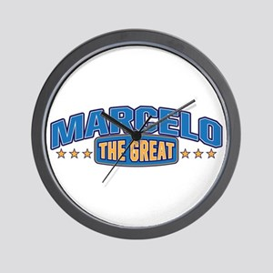 The Great Marcelo Wall Clock