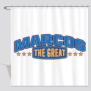 The Great Marcos Shower Curtain
