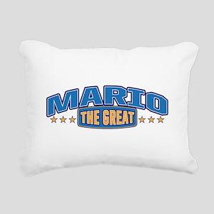 The Great Mario Rectangular Canvas Pillow