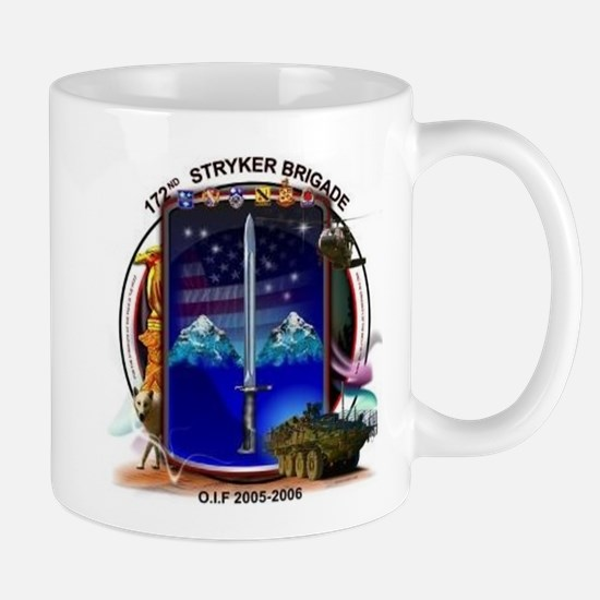 172nd Stryker Brigade 2-1 inf Mug
