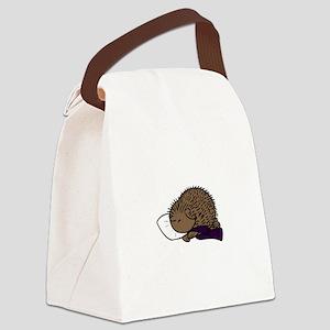 Sleepy Canvas Lunch Bag