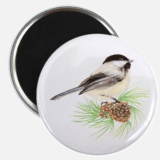 Chickadee Pine.png Magnet