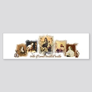 OCD Saints Bumper Sticker