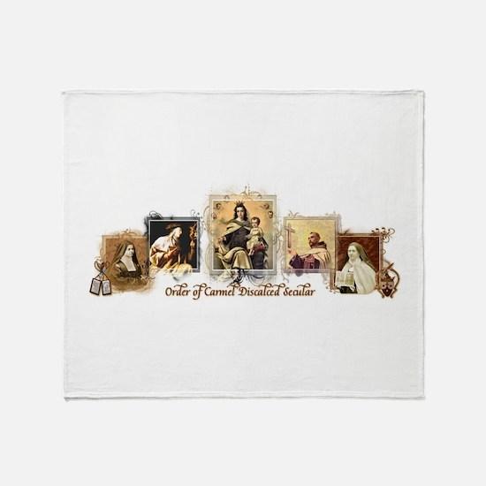 OCD Saints Throw Blanket