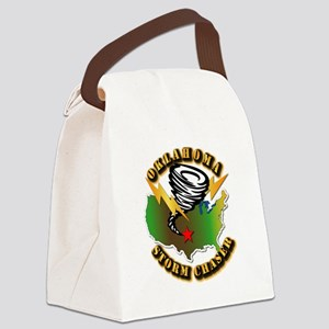 Storm Chaser - Oklahoma Canvas Lunch Bag