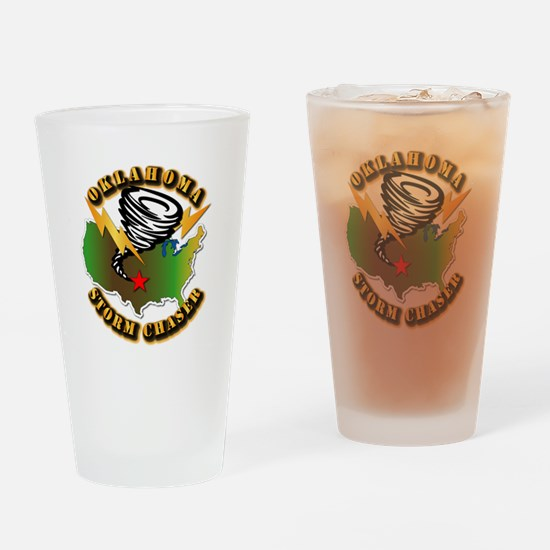 Storm Chaser - Oklahoma Drinking Glass