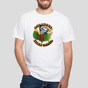 Storm Chaser - Oklahoma White T-Shirt