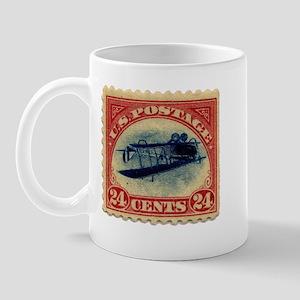 Rare Inverted Jenny Stamp Mug