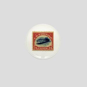 Rare Inverted Jenny Stamp Mini Button