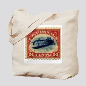Rare Inverted Jenny Stamp Tote Bag