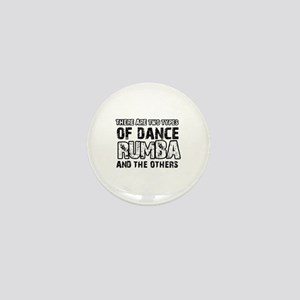 Rumba dance designs Mini Button