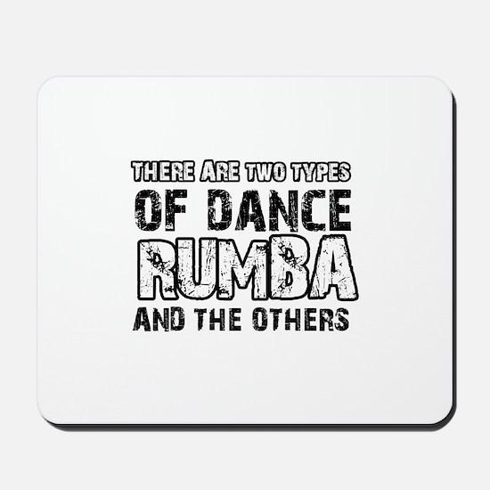 Rumba dance designs Mousepad