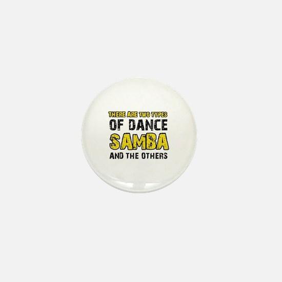 Samba dance designs Mini Button