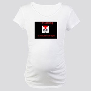 Turbo a Youtuber with style Maternity T-Shirt