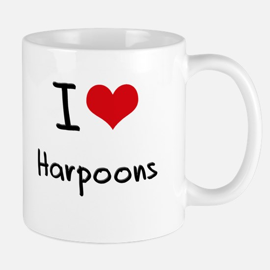 I Love Harpoons Mug