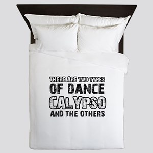 Calypso dance designs Queen Duvet