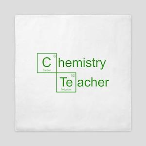 Chemistry Teacher Queen Duvet