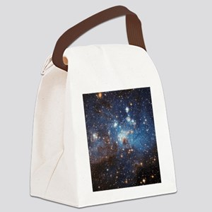 Starry Sky Canvas Lunch Bag