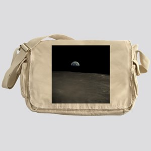 Earth Rise Messenger Bag