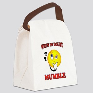 MUMBLE Canvas Lunch Bag