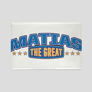The Great Matias Rectangle Magnet