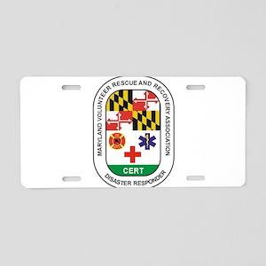 VOLUNTEER PATCH Aluminum License Plate