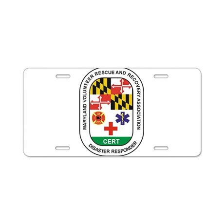 VOLUNTEER PATCH.jpg Aluminum License Plate