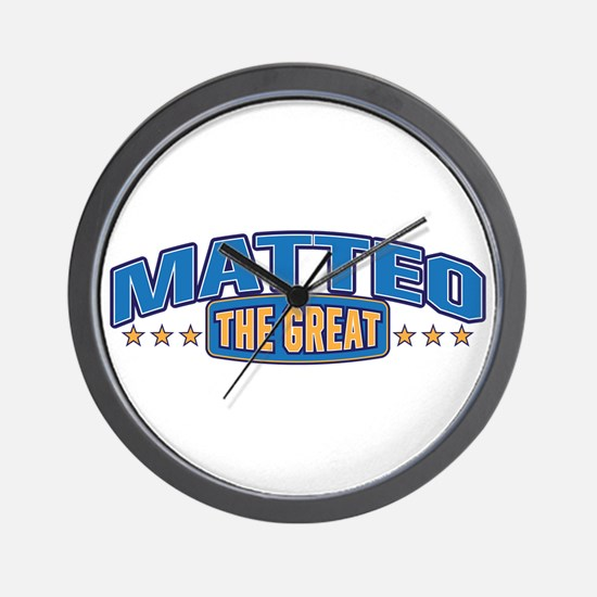 The Great Matteo Wall Clock