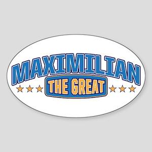 The Great Maximilian Sticker