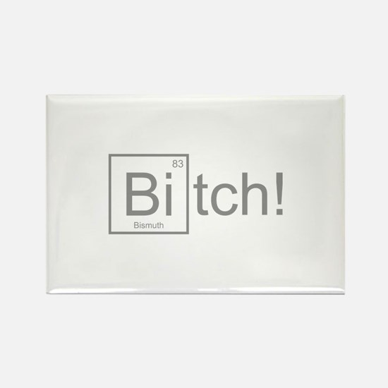 Bitch! Rectangle Magnet