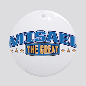 The Great Misael Ornament (Round)