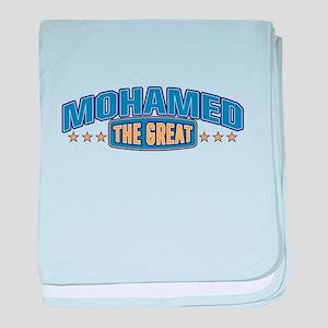 The Great Mohamed baby blanket